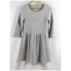 Johnnie B. Boden Gray Dress SilverSweatshirt 13/14